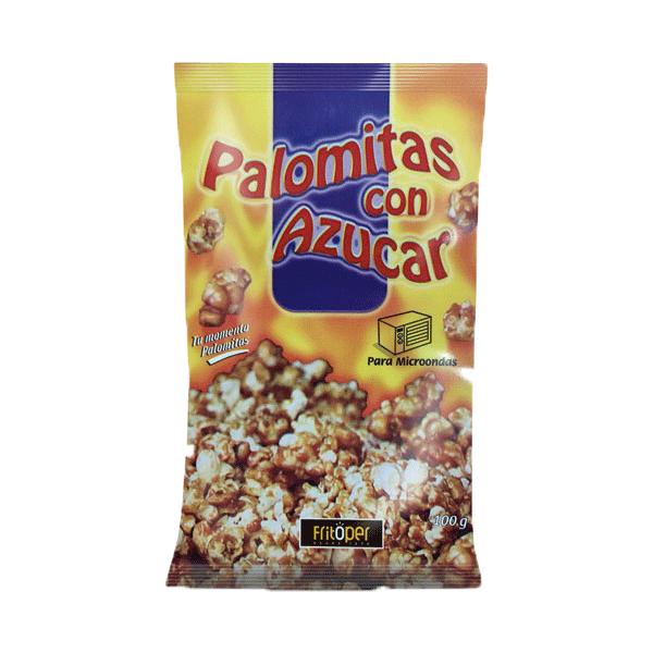 Palomitas para microondas dulces. 100 gr.