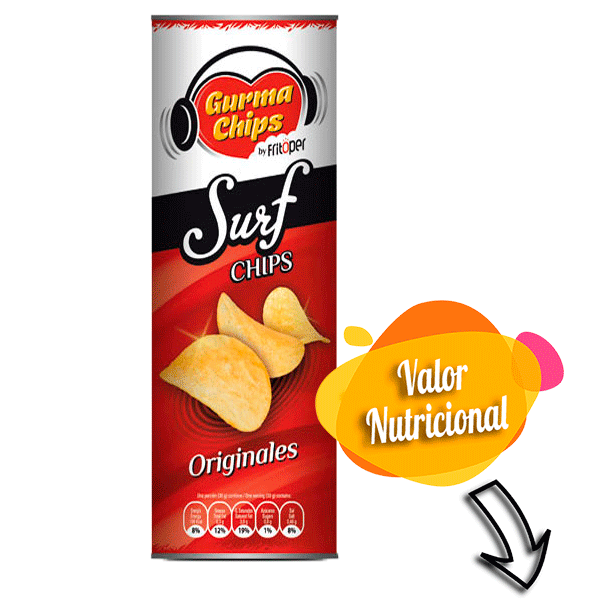 Surf Chips Originales 160 gr