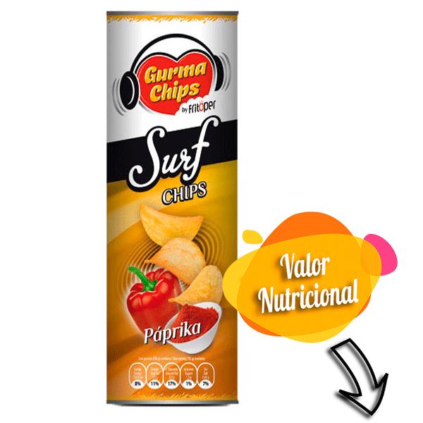 Surf Chips Paprika 160 gr