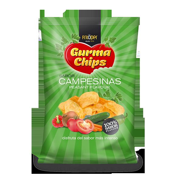 Patatas Fritas Campesinas Gourma Chips