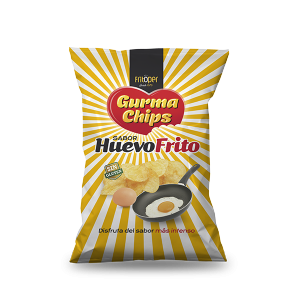Patatas Fritas con sabor a huevo Gourma Chips