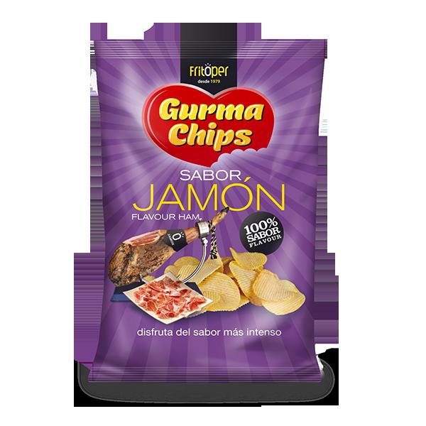 Patatas Fritas sabor Jamón Gourma Chips