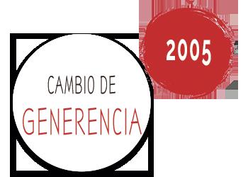 2005 Cambio generacional