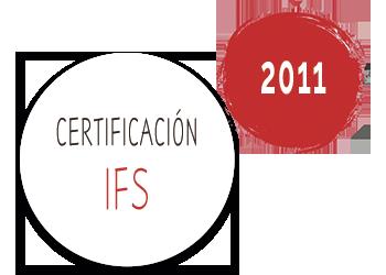 2011 Fritoper consigue el sello de certificación de calidad IFS
