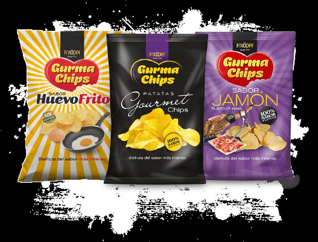 Patatas Fritas - Gurma Chips