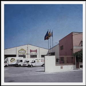 1988 Traslado de fábrica de Fritos Pérez SL