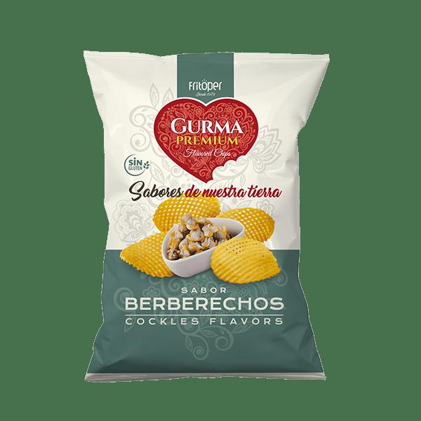 patatas sabor berberecho gurma premium
