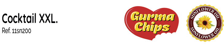 Fritoper Gurma Chips Snacks Cocktail XXL